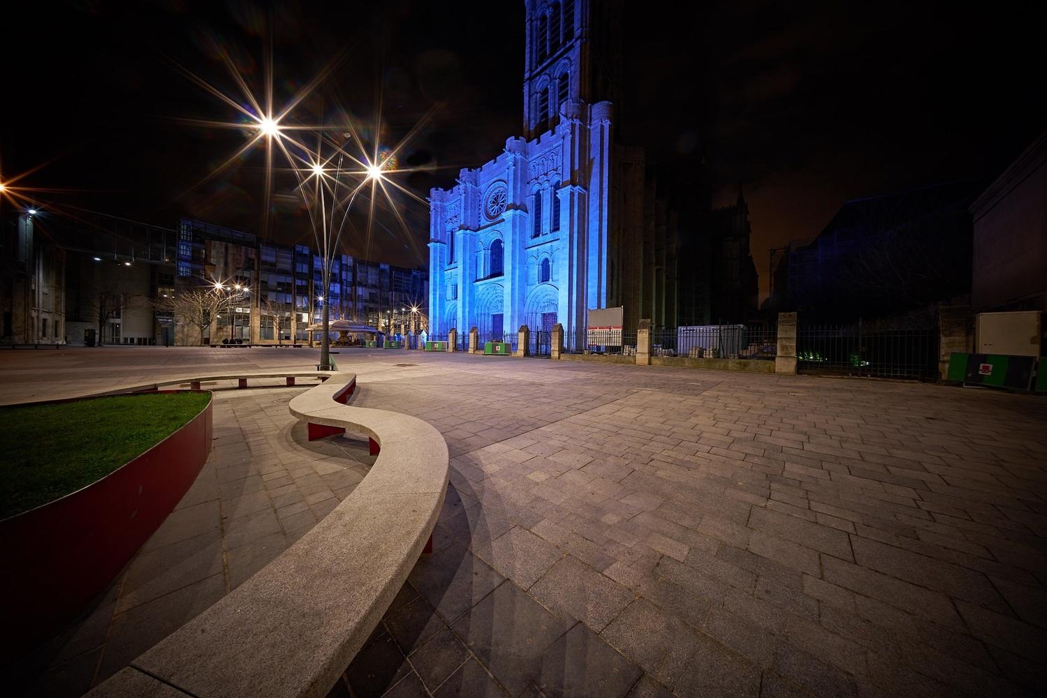 Saint Denis Basilica by Adam Gold