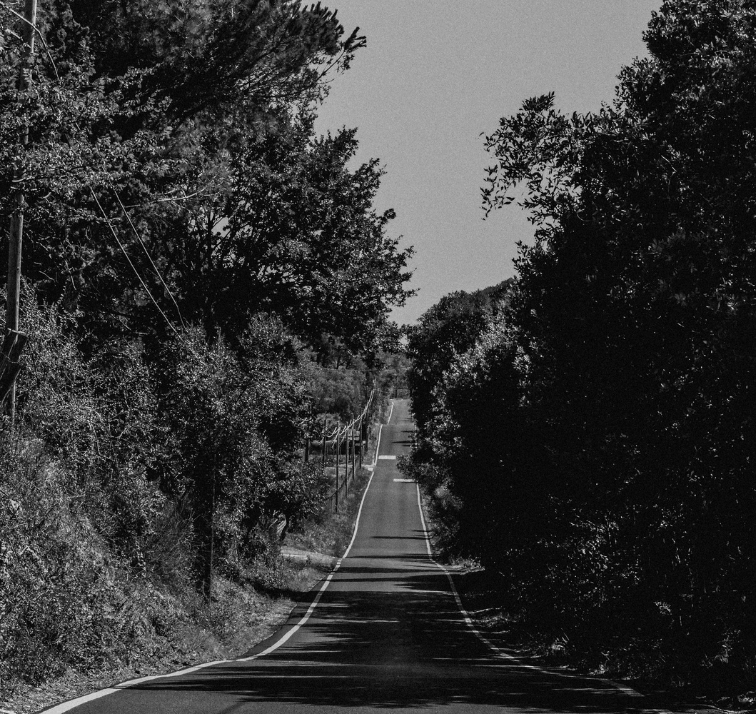 On the road by Antonella Di Mattei