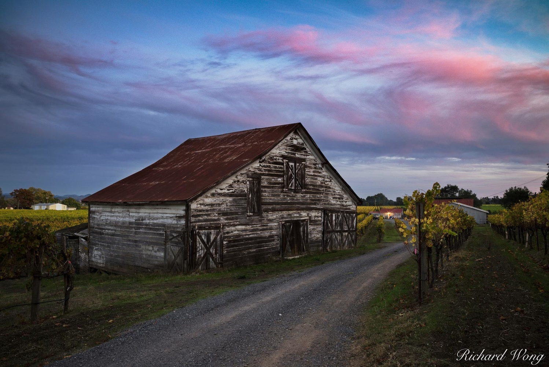 Dry Creek Valley Barn by Richard Wong