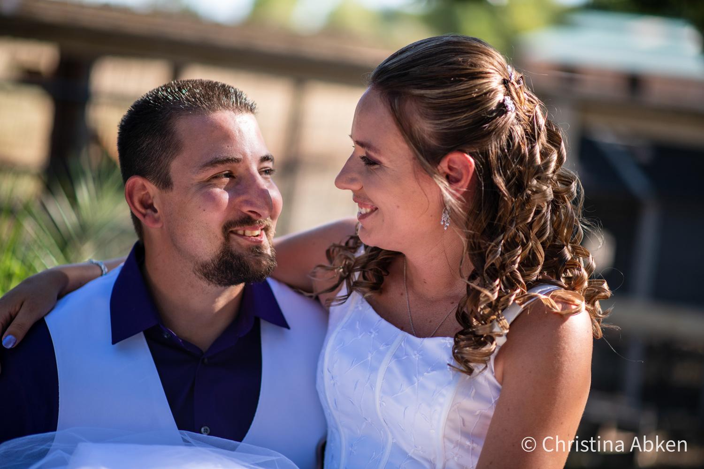 Whitney & David Wedding by Christina Abken
