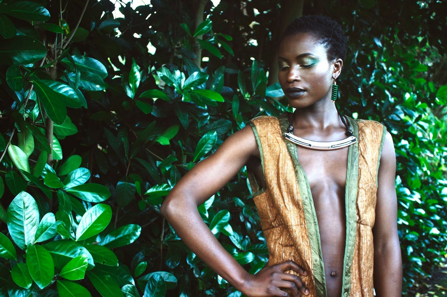 Nature Love -Jewellery Shoot by Sivuyisiwe Giba
