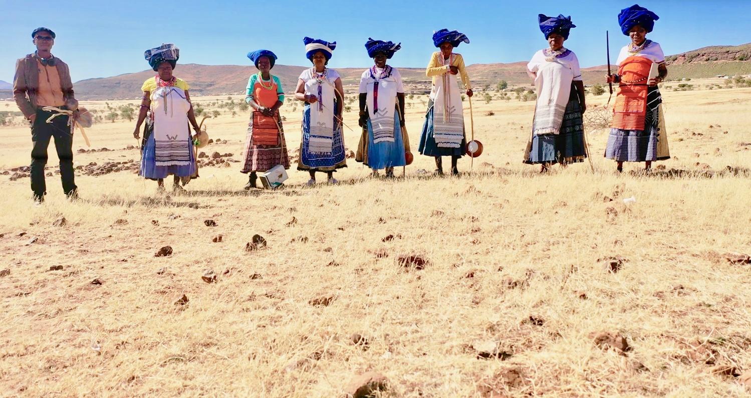 Ngqoko Woman Ensemble by Sivuyisiwe Giba