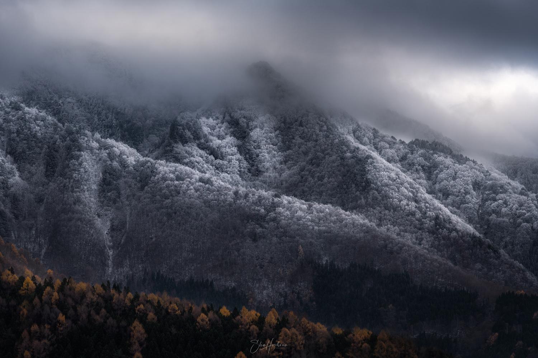Frozen mountain by Sho Hoshino