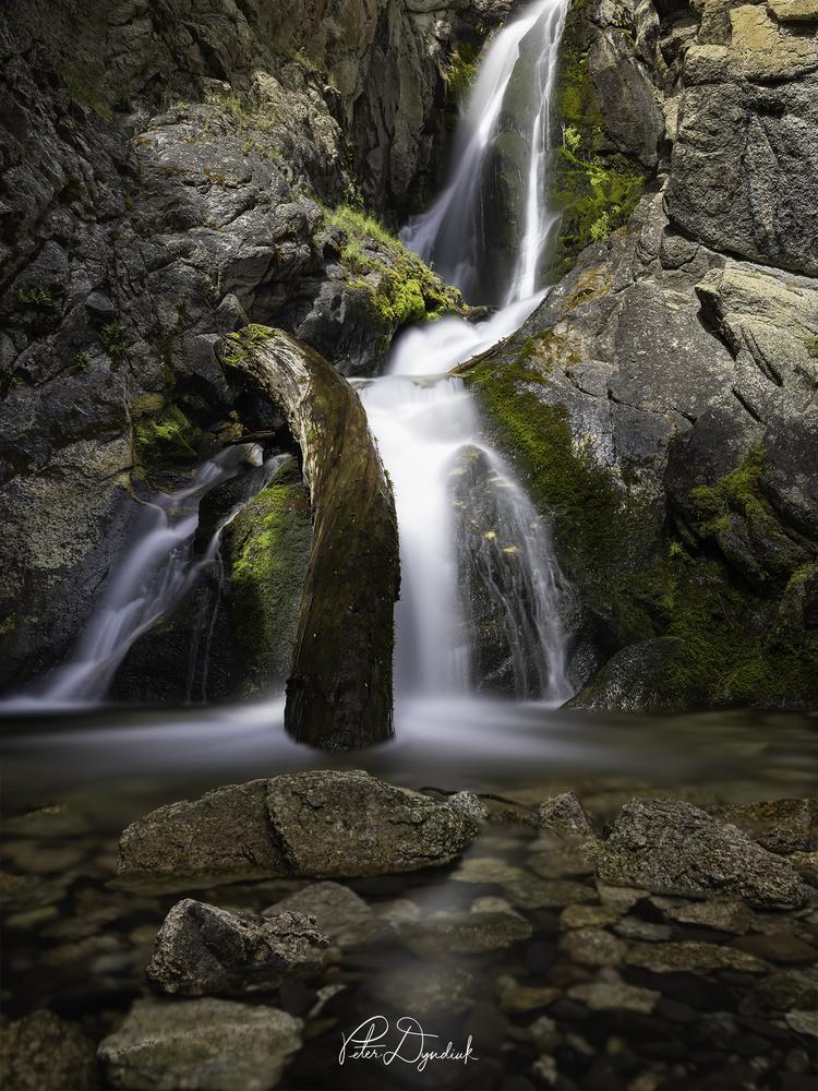 Big Fall Creek by Peter Dyndiuk