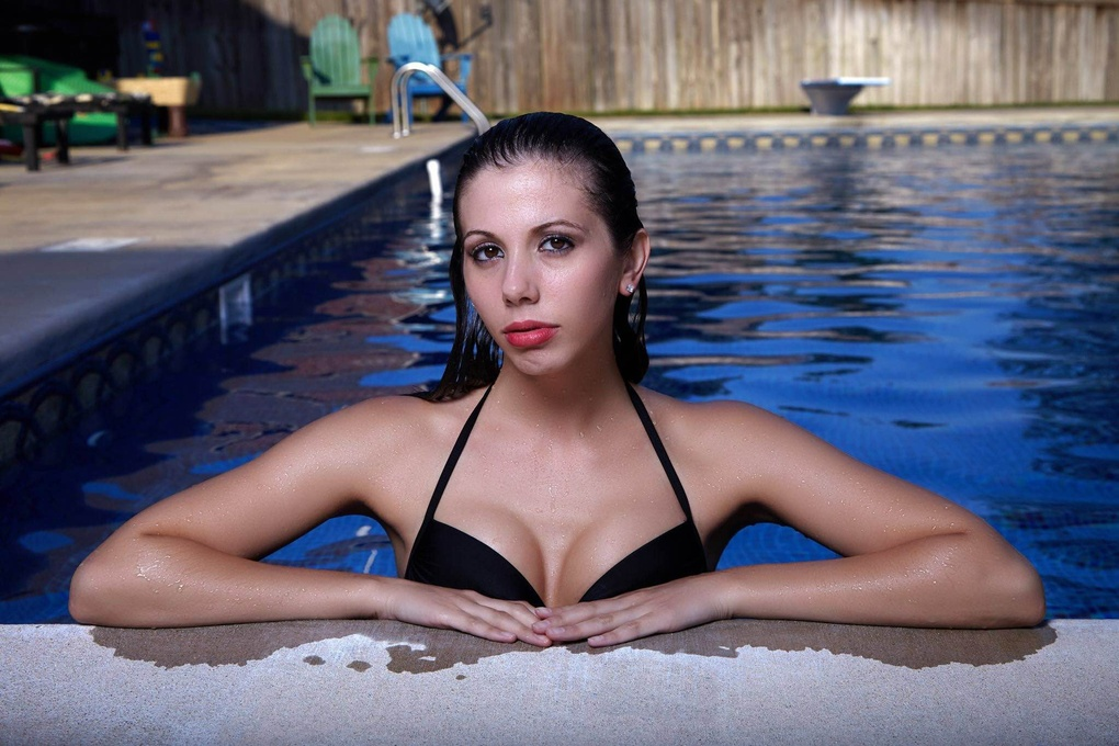 Shelby Pool Shoot 2 by William Masters