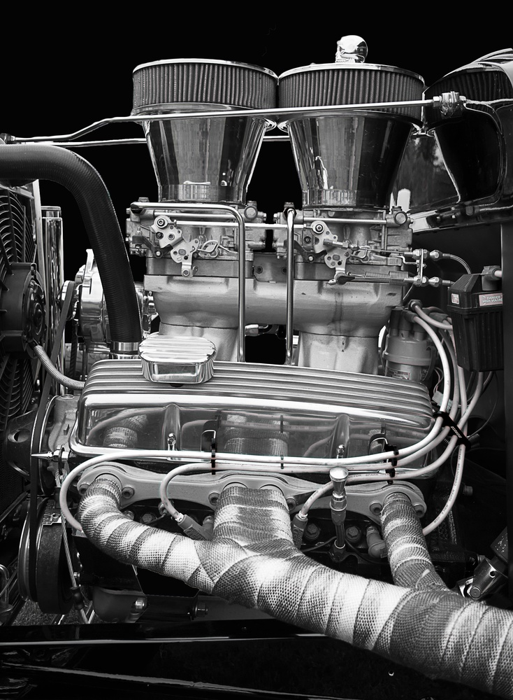 Engine by Darrell Potts