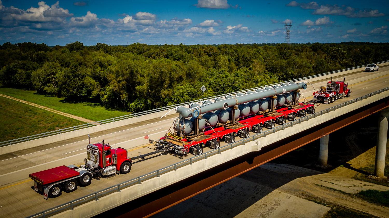 OTR Heavy Transport by Tony Broussard