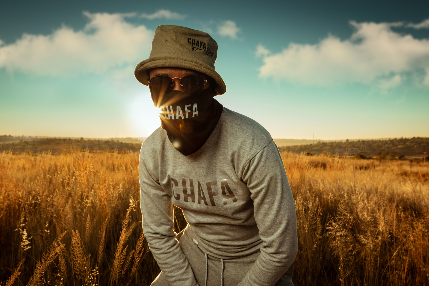 Fashion shoot for a local brand to promote some of it's new merch by Lethu Zimu