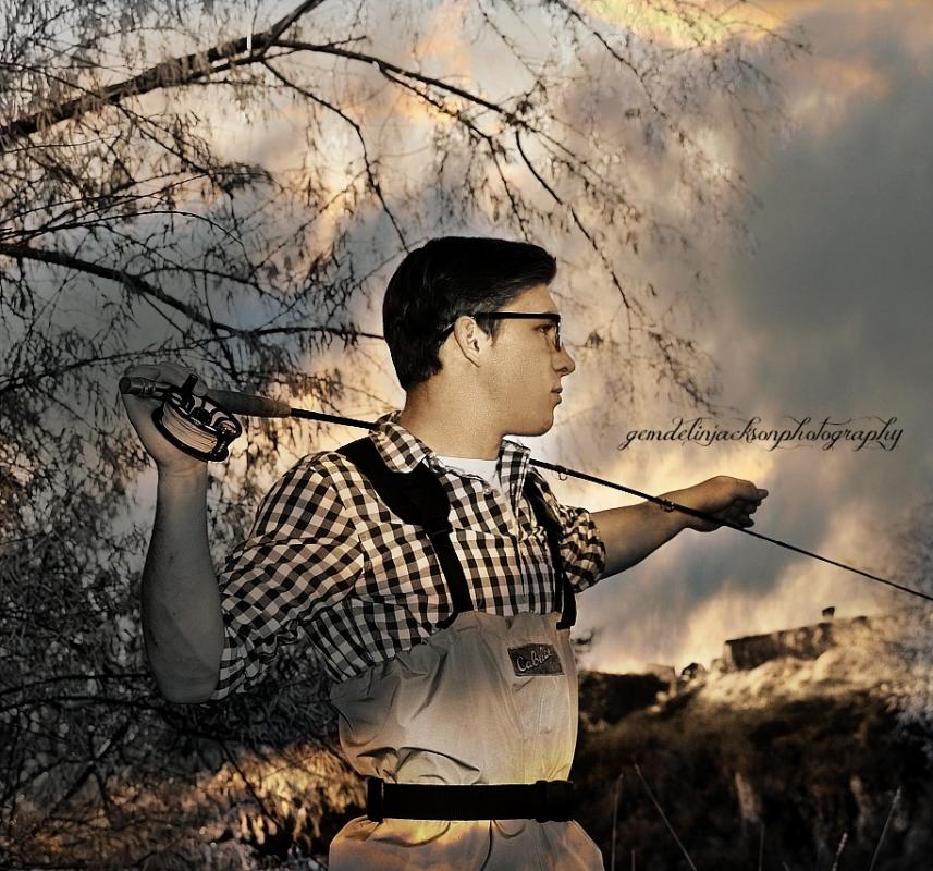 The Fisherman by gemdelin jackson