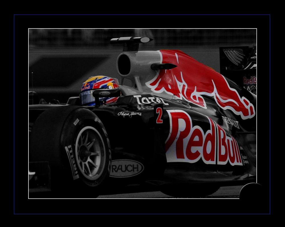 Mark Webber by Murray Howard-Brooks