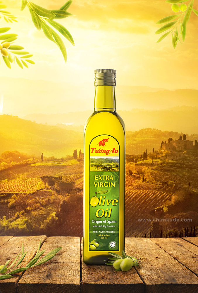 Tuong An Olive Oil by Hung Nguyen