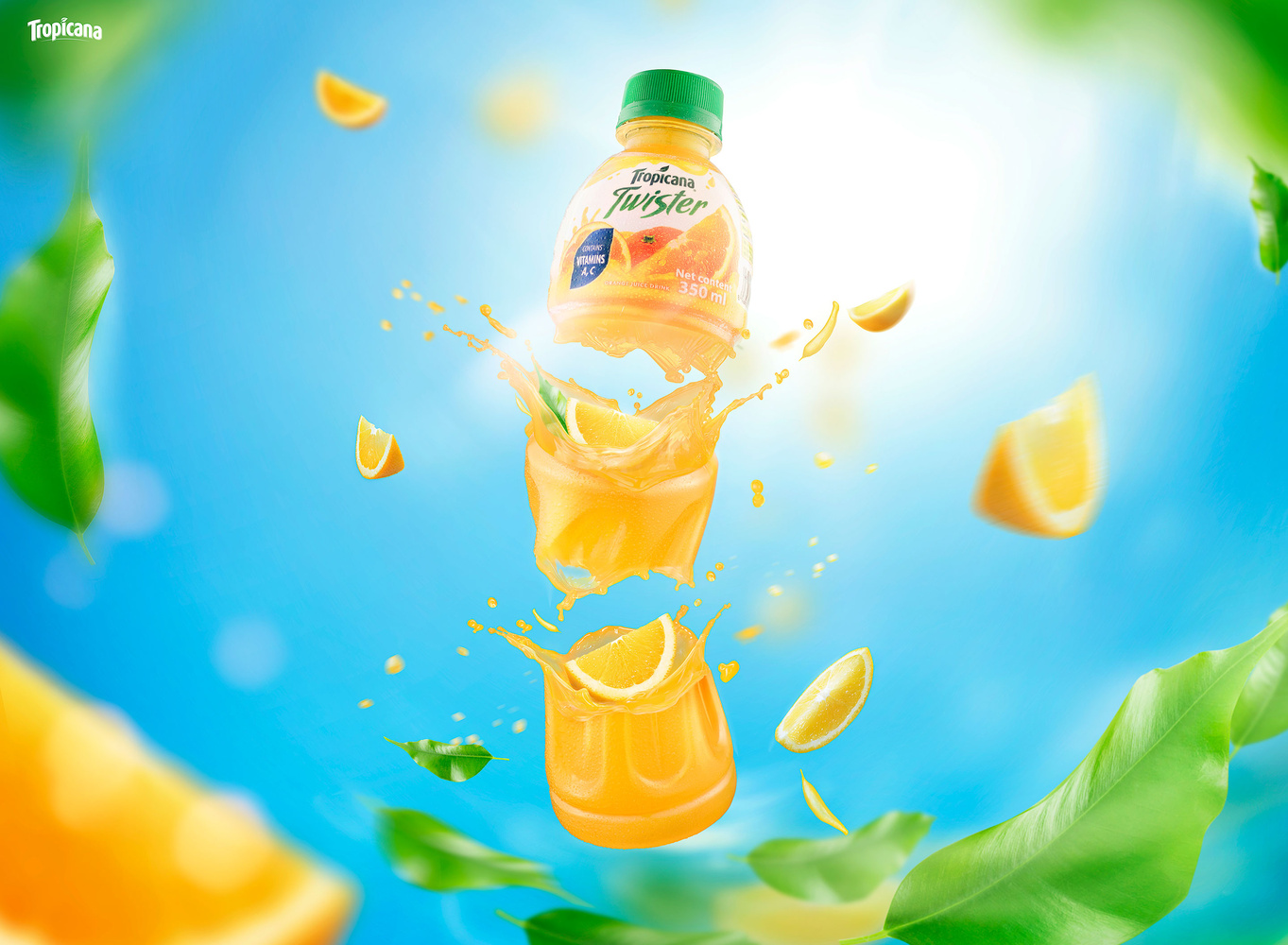 Advertising drink by Hung Nguyen