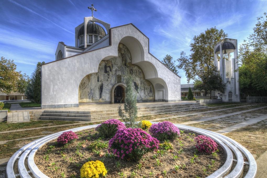 Vanga's Temple by Ivo Ivanov