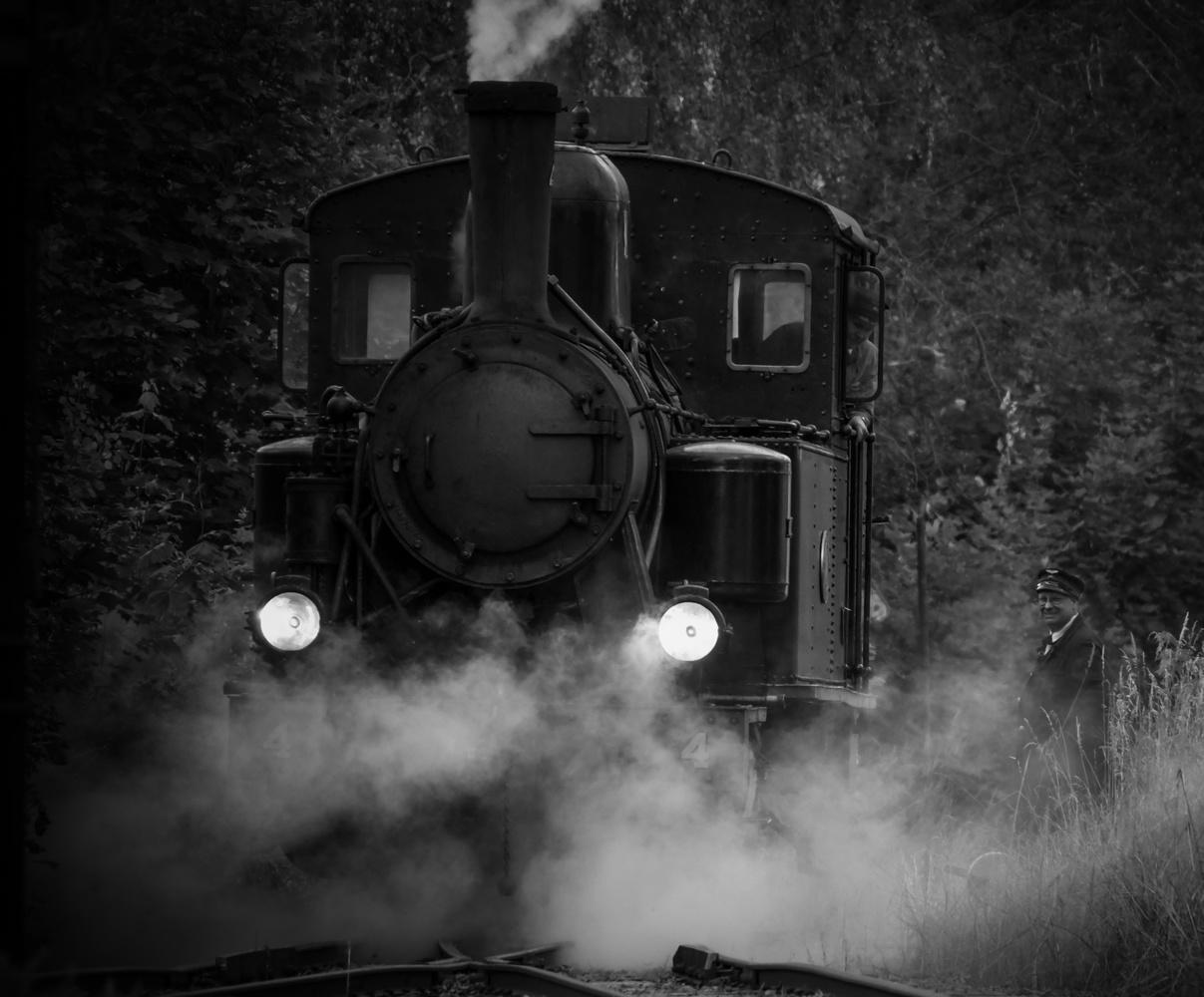 Steam train by Daniel Beckman
