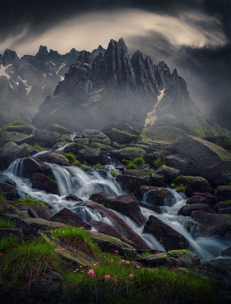 Mysterious Peaks by Aytek Çetin