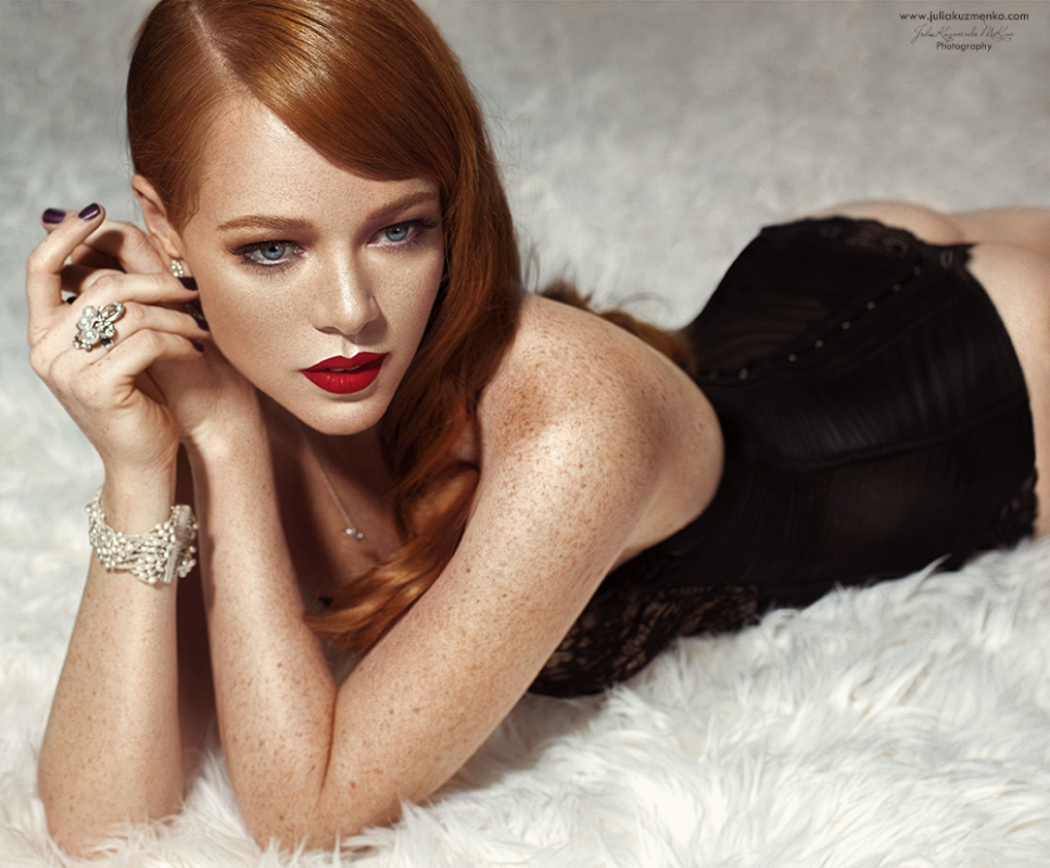 My beautiful redhead friend Aja by Julia Kuzmenko McKim
