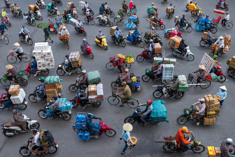 Fragments of Hanoi II by Peter Stewart