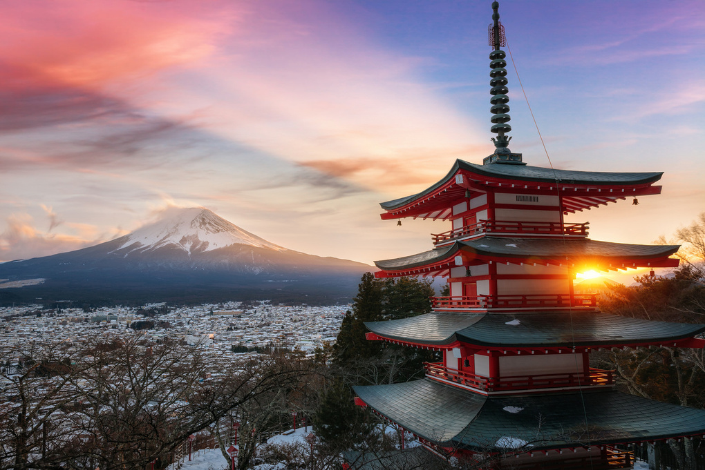 Land of the Rising Sun by Peter Stewart