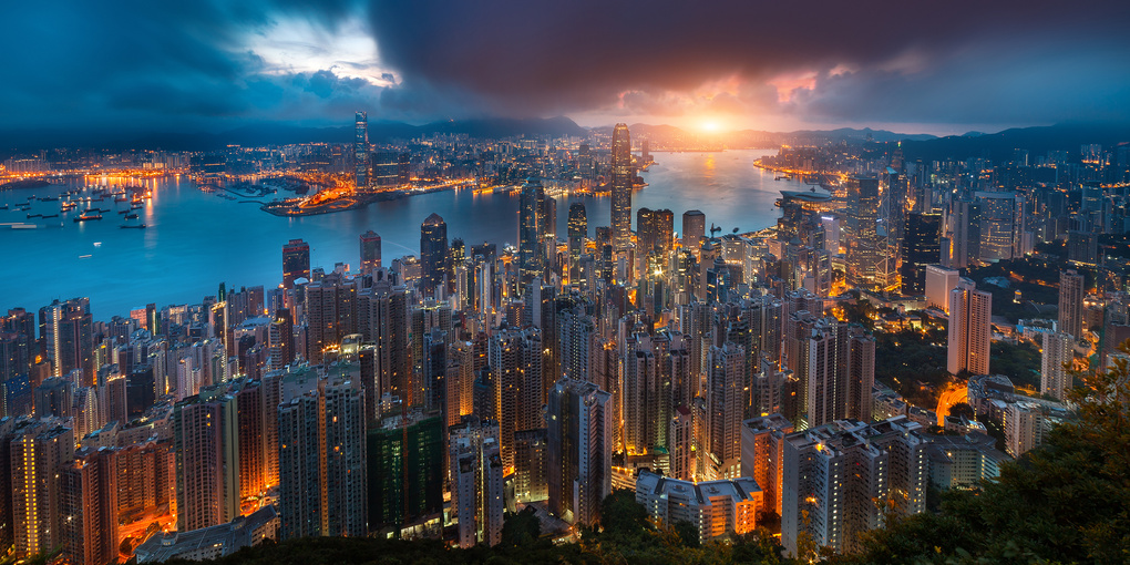 Good Morning, Hong Kong by Peter Stewart