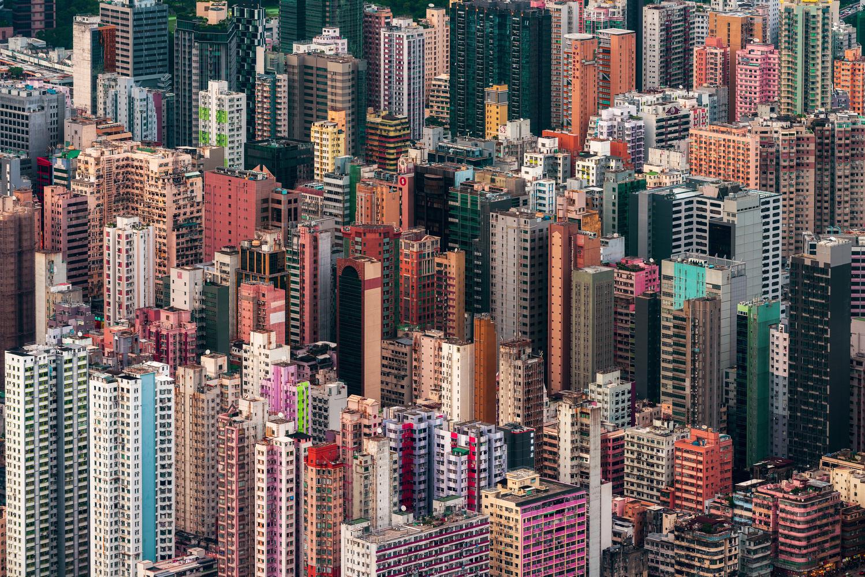 Pixeltowns by Peter Stewart