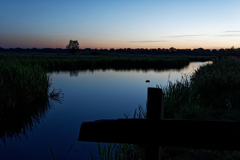 Before sunrise by Tim van der Leeuw
