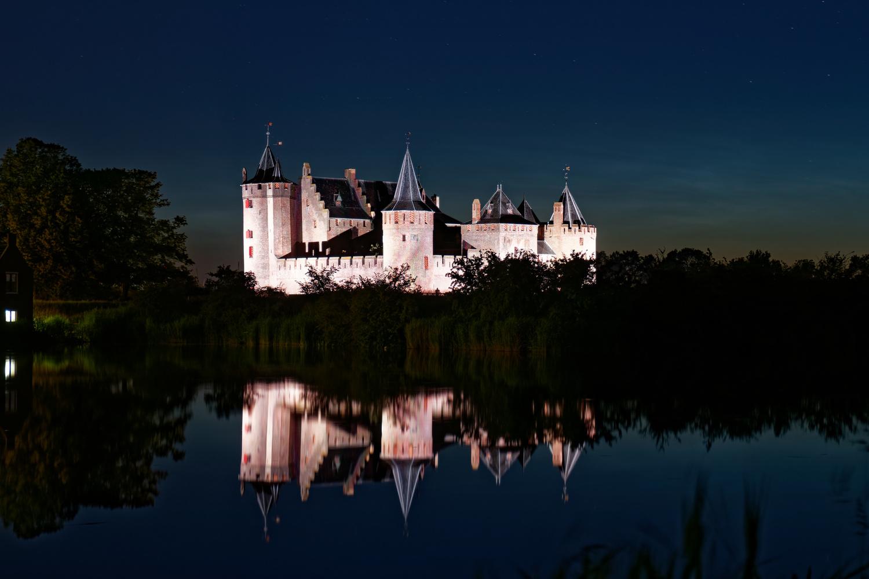 Muiderslot castle by Tim van der Leeuw