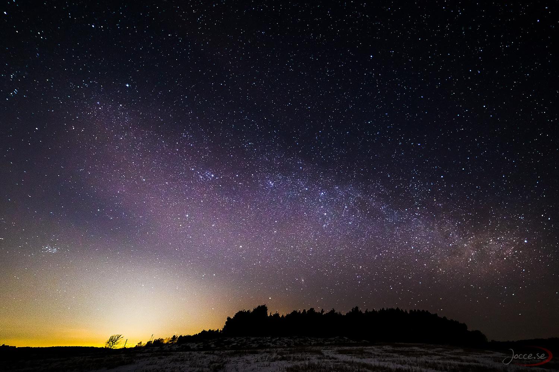 Early Season Milkyway by Joacim Hansson