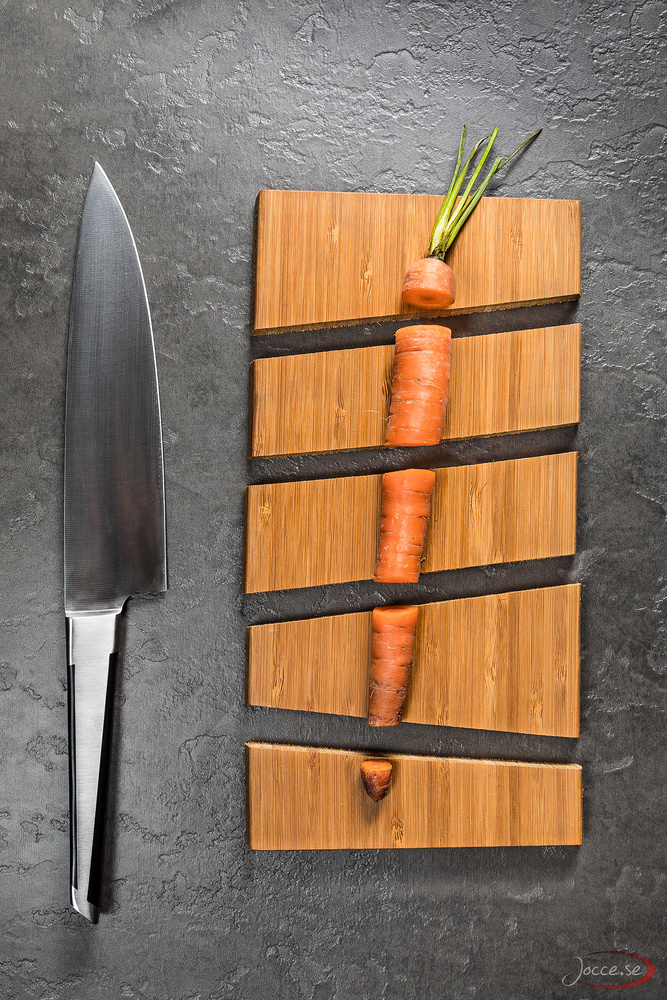 The Carrot, The Cutting Board and The Knife by Joacim Hansson