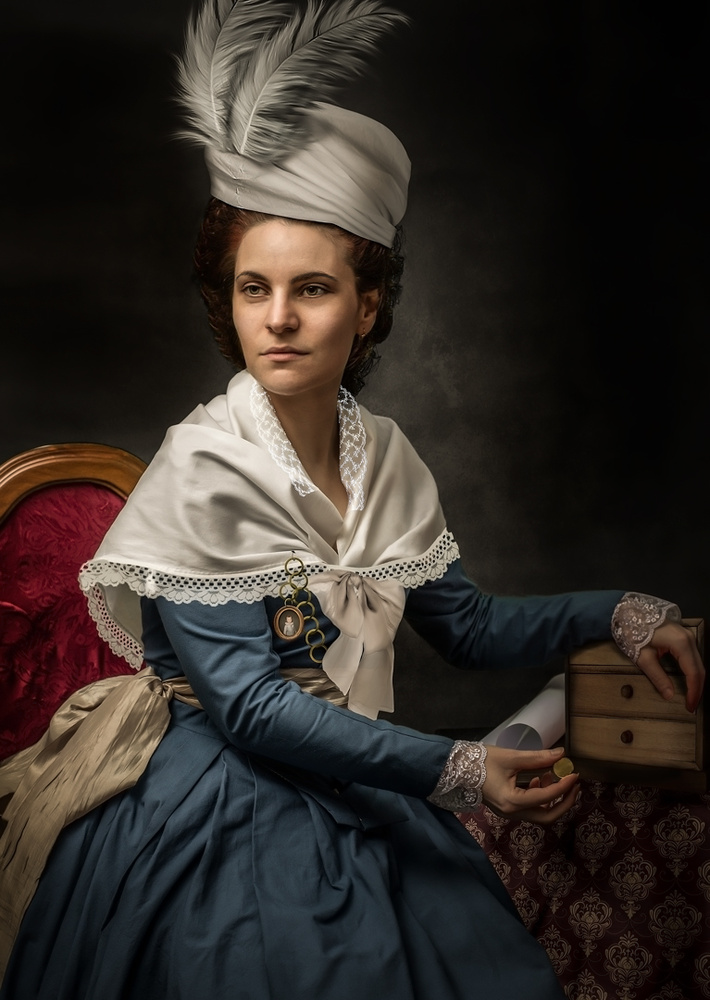 young woman by Emanuele La Grotteria