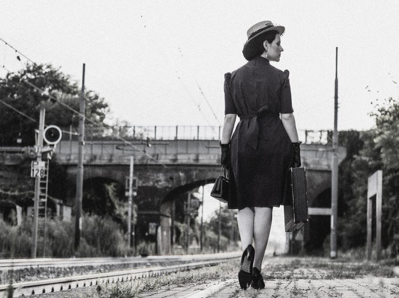 Vintage Fashion 1940 by Emanuele La Grotteria