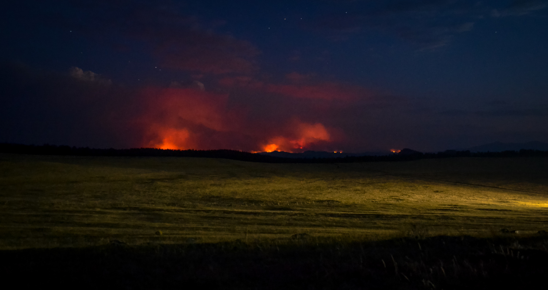Fire on the Horizon by Meghann Bothe
