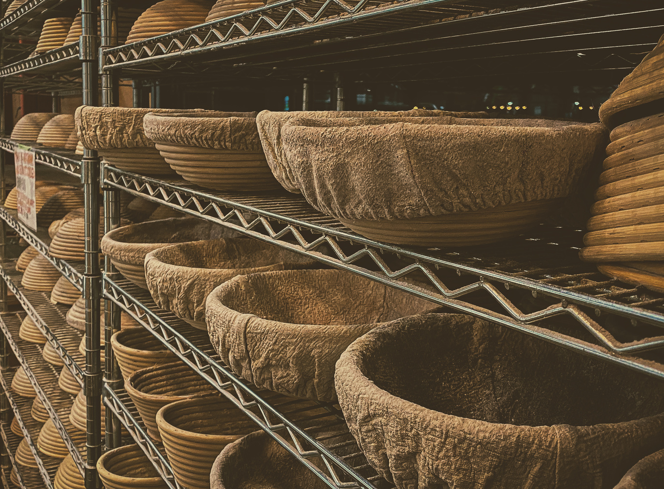 At the Bakery ~Bread Baskets by Heather Langlois