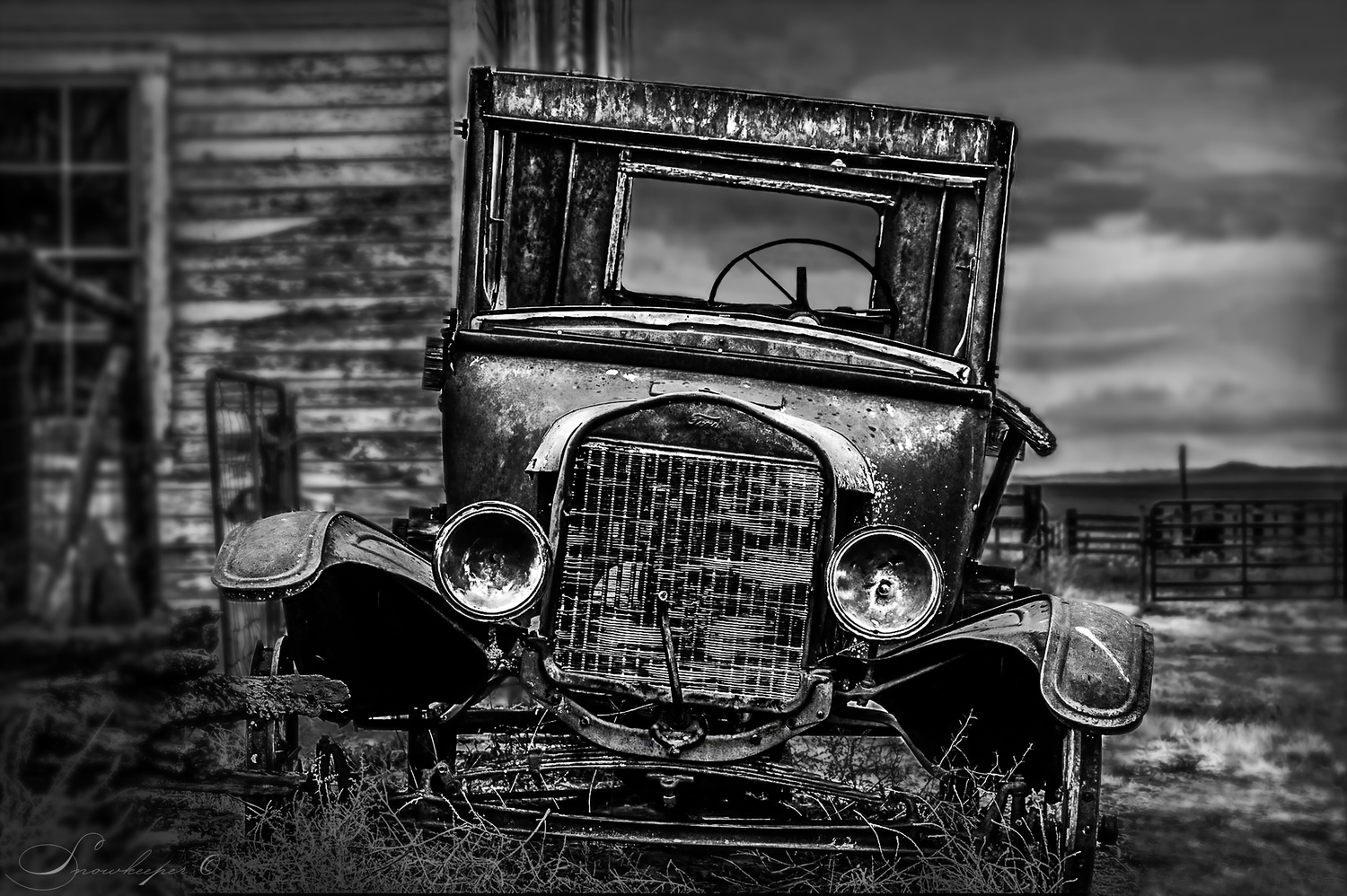 The Old Timer by Heather Langlois