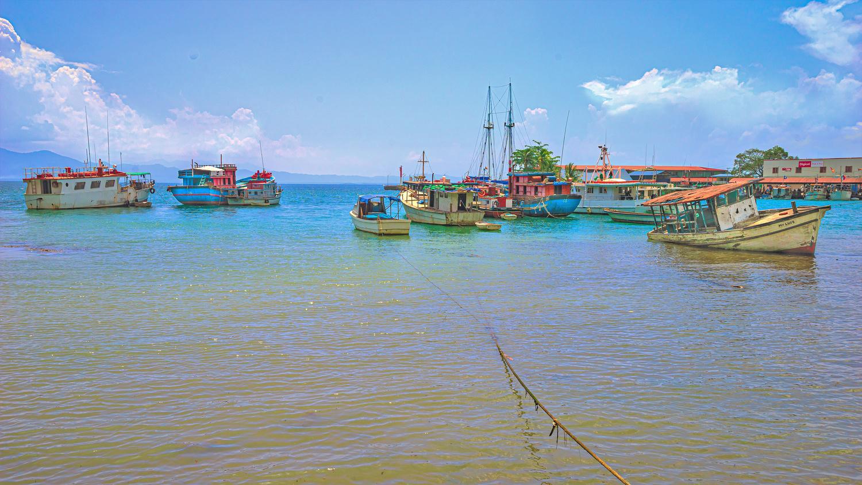Alotau Fishing Harbour by Chris Smith