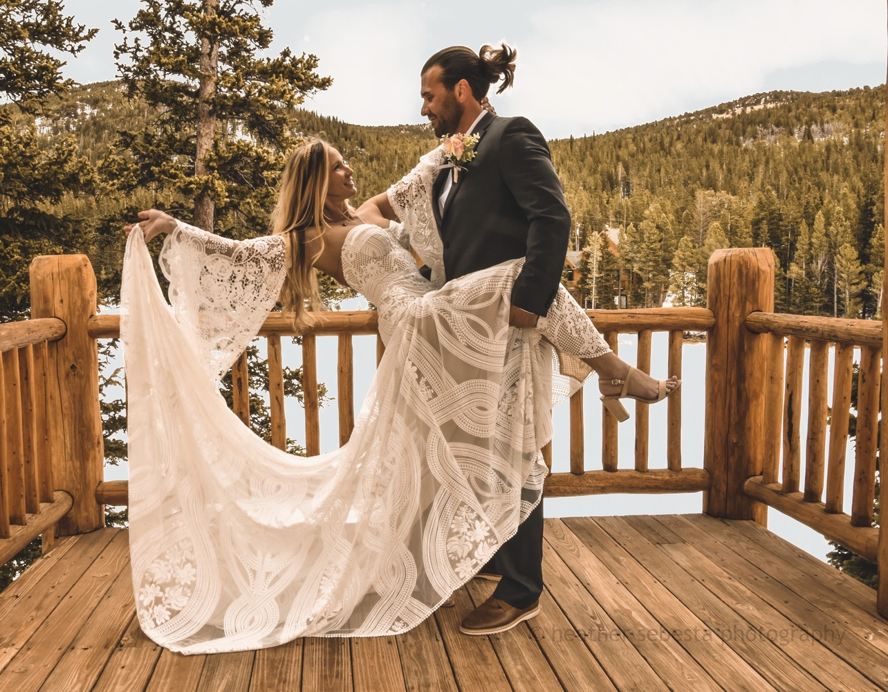 My favorite of our vow day by Heather Sebesta