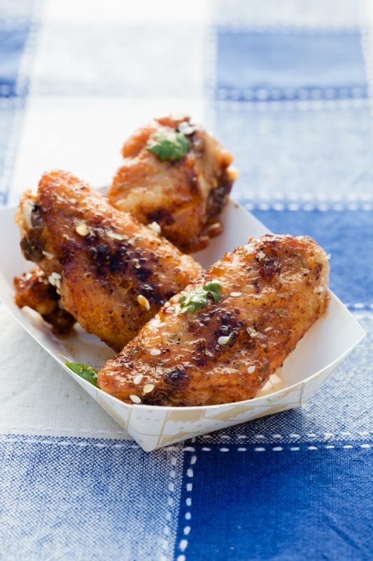 Chicken Wings  by Taylor Mathis