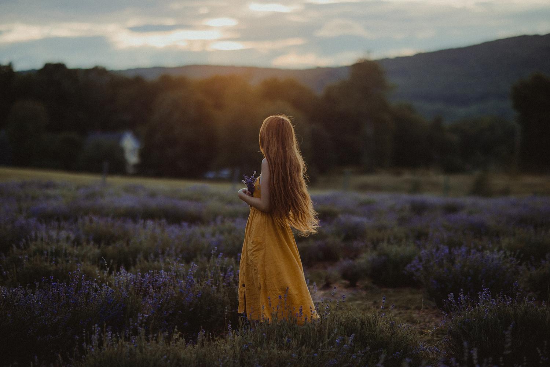 Bleu Lavande by Camille Girard