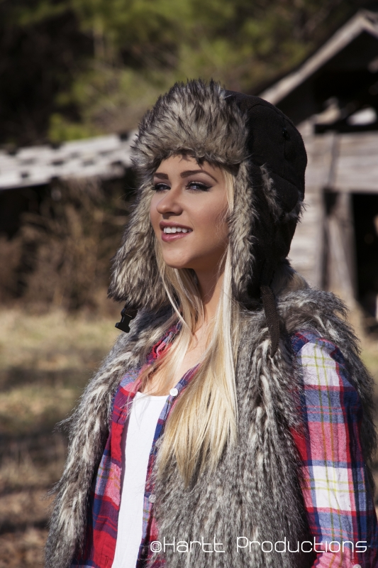 Fuzzy Hat by Austin Hartt