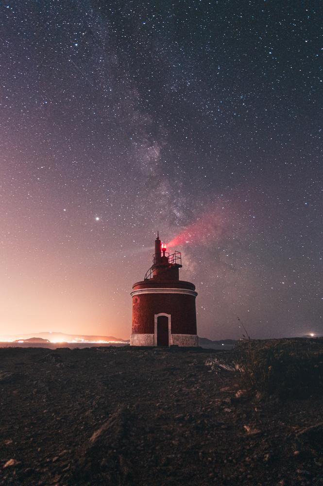 Milky lighthouse by Ave Calvar Martinez