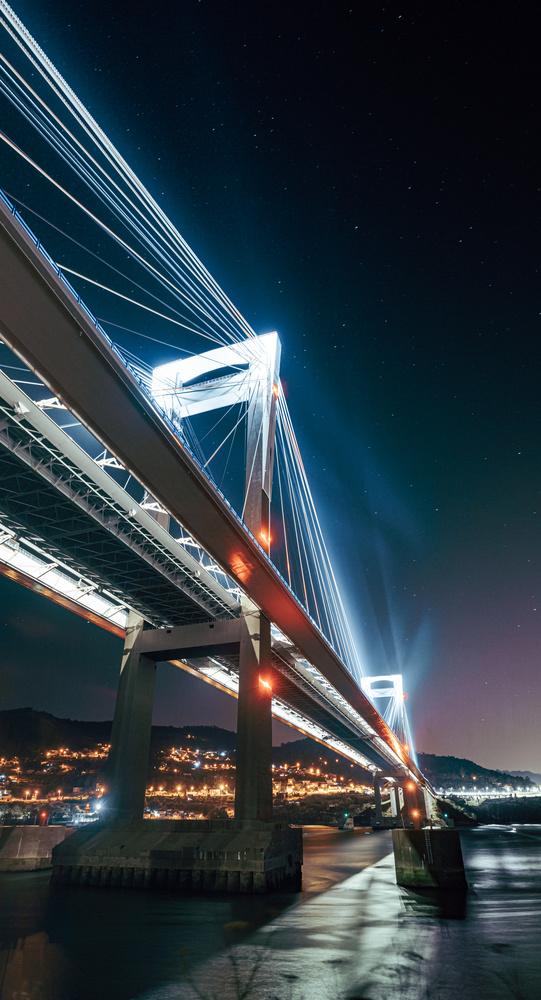 Dystopian bridge by Ave Calvar Martinez