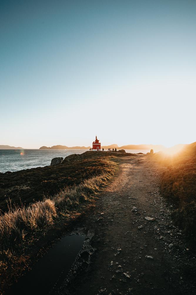 The lighthouse by Ave Calvar Martinez