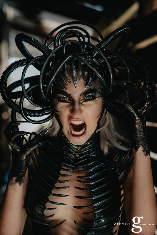 Alien Roar by Victor Gonzales