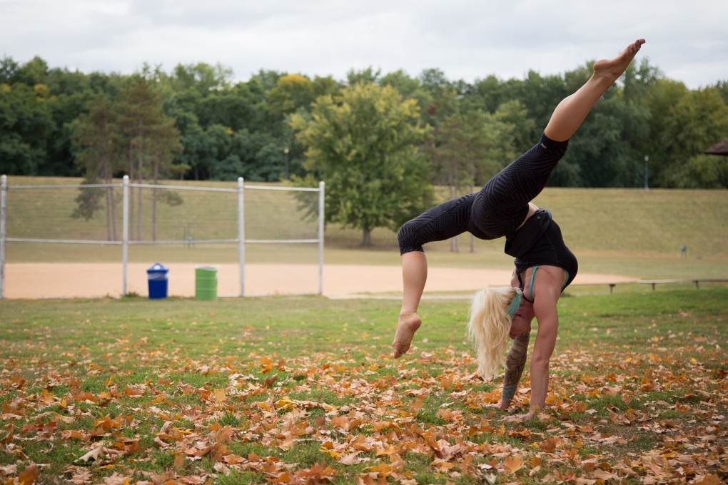 Yoga Girl by Patrick Gensel