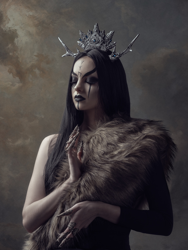 Norse Goddess II by Hajnalka Beren