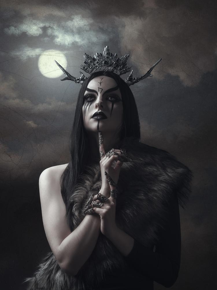 Norse Goddess I by Hajnalka Beren