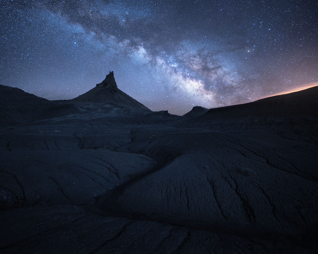 Night in the Badlands by Matt Meisenheimer