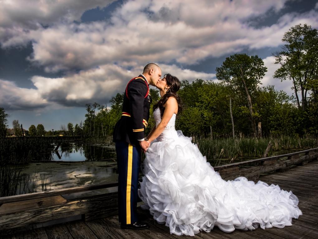 Military Wedding by Steve Vansak