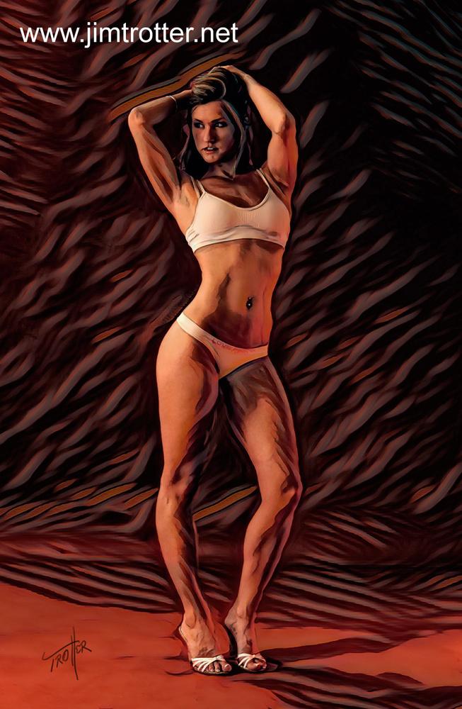 Ashley Models by jim trotter