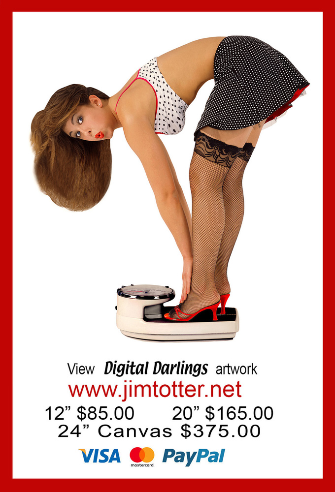 weight Watcher by jim trotter