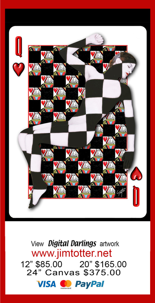 Queen of Hearts by jim trotter